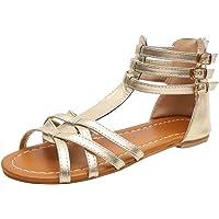 Luckycat Zapatos Planos de Mujer Sandalias Mujer Verano