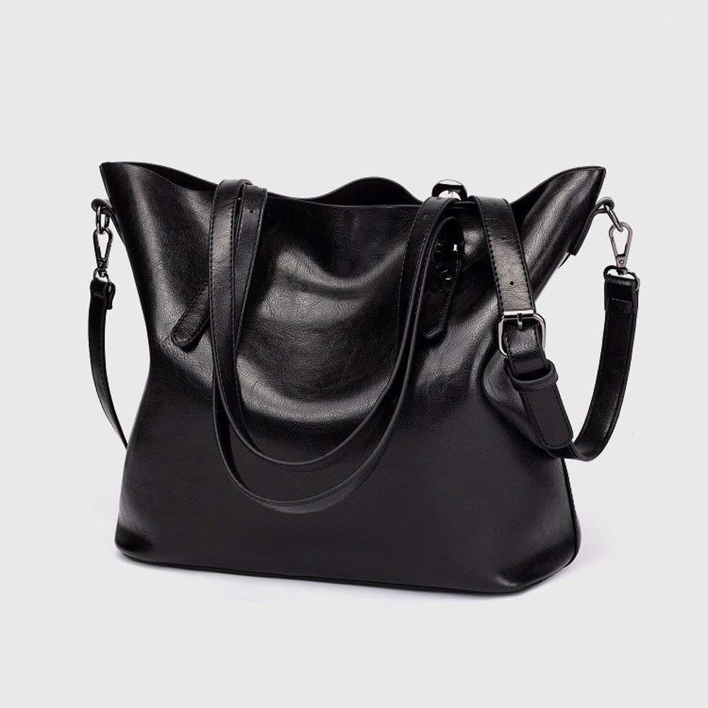Willsego Mode Mode Mode Damen Retro Crossbody Tasche Schultertasche Handtasche Bucket Bag Tote Bag (Farbe   Schwarz) B07M7CGVYH Umhngetaschen Menschliche Grenze b20eff