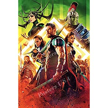 Thor Ragnarok Movie Poster Print Wall Art 8x10 11x17 16x20 22x28 24x36 27x40