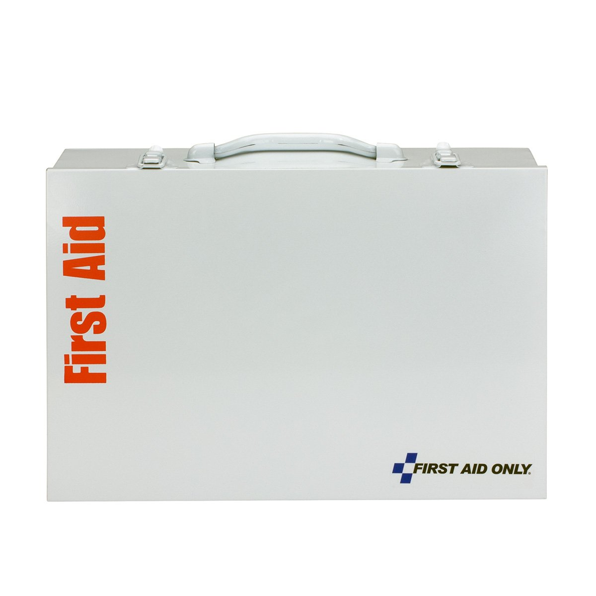First Aid Only 90573 ANSI 2015 Compliant 2 Shelf First Aid Station with Medications
