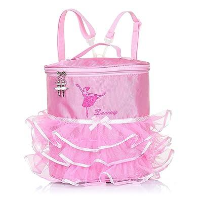 Amazon.com: Bebé Girls – Bolsa de Ballet rosa princesa ...