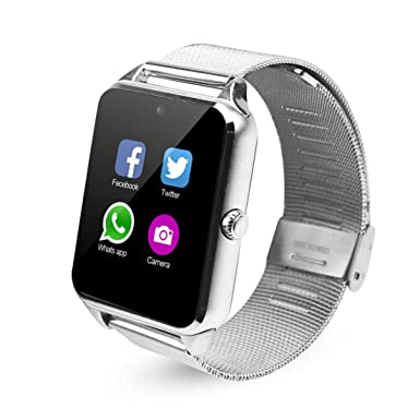 fatmoon Z60 GSM 2 G bluetooth Smart reloj teléfono con cámara/podómetro/anti-