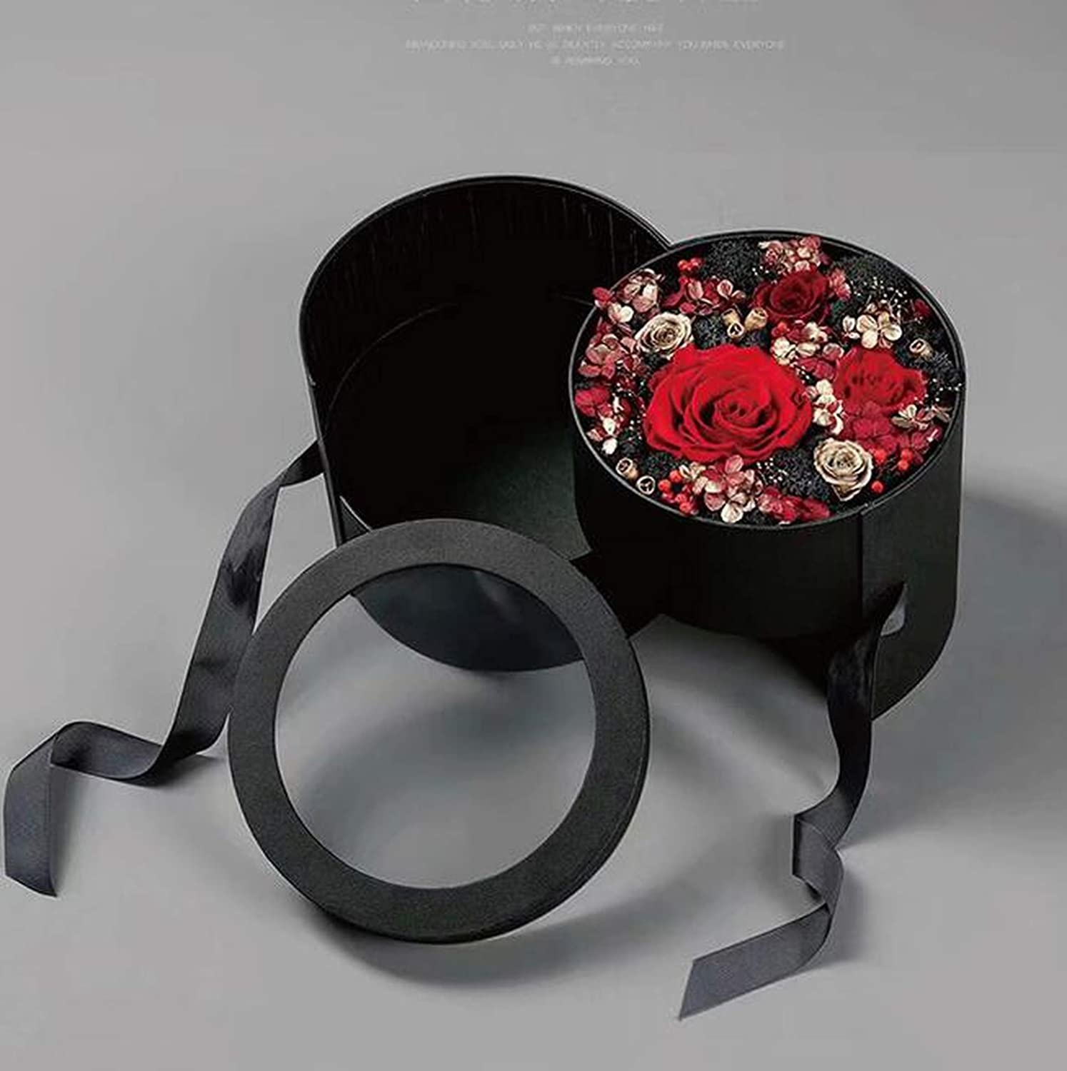 Details about  /Two Layer Round Gift Box Wedding Valentine/'s Day Surprise Flower Candy Gift Box