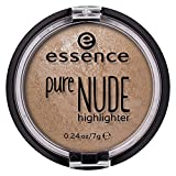 essence | Pure NUDE Highlighter, 10 Be My Highlight | Natural and Subtle Glow | Vegan & Cruelty Free | - Beige