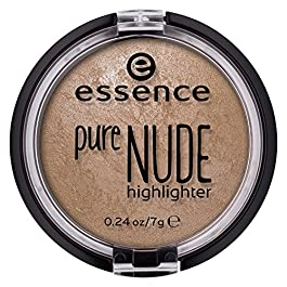 essence | Pure NUDE Highlighter, 10 Be My Highlight | Natural and Subtle Glow | Vegan & Cruelty Free | – Beige