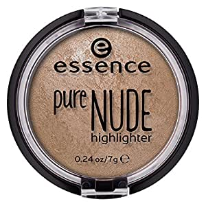 essence   Pure NUDE Highlighter, 10 Be My Highlight   Natural and Subtle Glow   Vegan & Cruelty Free   - Beige
