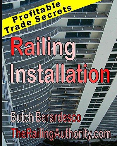 Railing Installation Profitable trade Secrets ebook product image