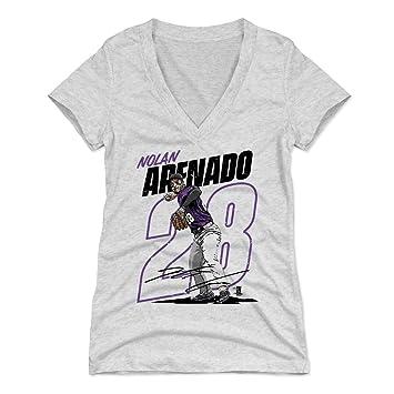 factory price df089 50007 Amazon.com : 500 LEVEL Nolan Arenado Women's Shirt ...