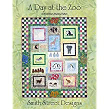 A Day at the Zoo an Embroidery Machine Pattern with CD by Smith Street Designs