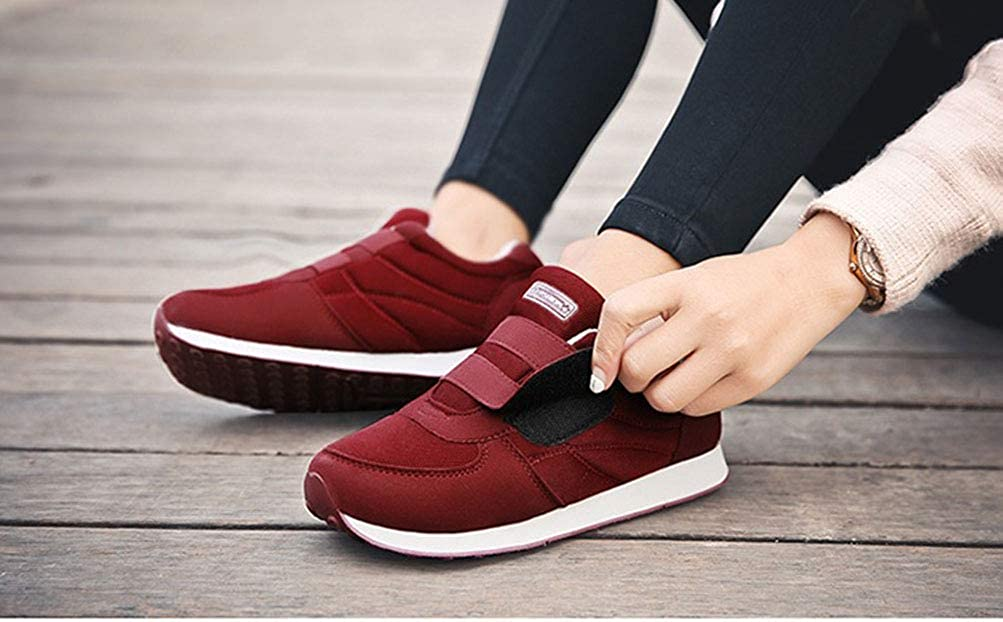 8504573489f Scennek Middle-Aged Ladies Sporting Shoes Cozy Lightweight Hiking Shoes   Amazon.co.uk  Shoes   Bags