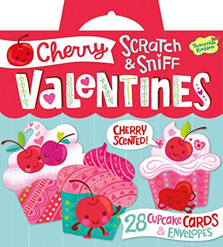 peaceable-kingdom-cherry-cupcake-scratch-and-sniff-super-valentines-card-pack