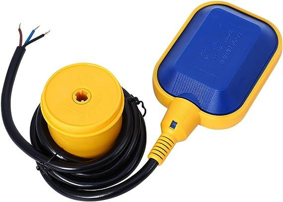 Schwimmerschalter 8 250V 15 mit Kabelaufwicklung A Wasserstandsregler 5M Kabel