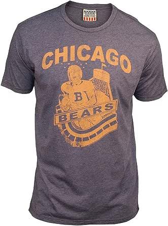 NFL Chicago Bears Men's Vintage Short Sleeve T-Shirt (New Navy)