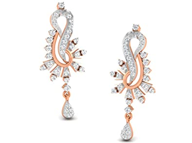 a8c740365 Buy His & Her Diamonds .925 Sterling Silver and Diamond Stud Earrings  Online at Low Prices in India | Amazon Jewellery Store - Amazon.in