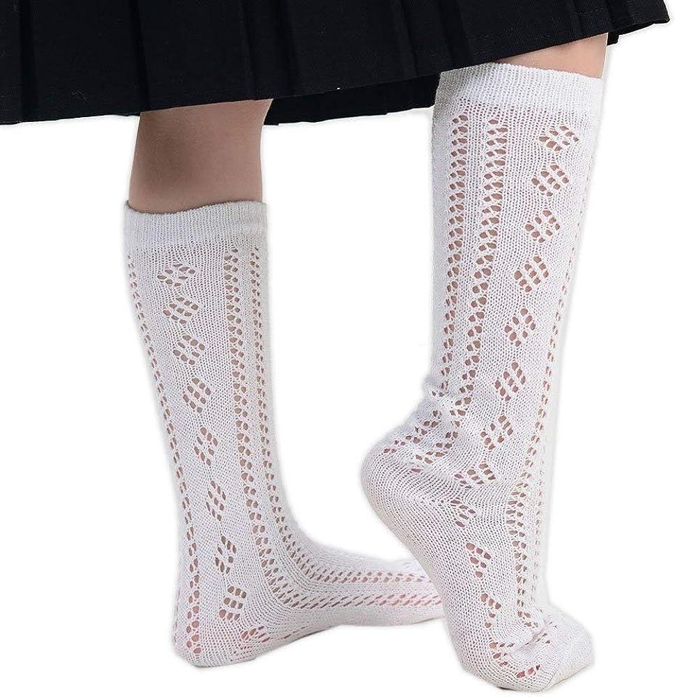 Various Sizes 3 Pairs of Girls White Pelerine Socks