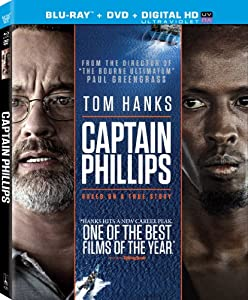 Cover Image for 'Captain Phillips (Two Disc Combo: Blu-ray / DVD + UltraViolet Digital Copy)'