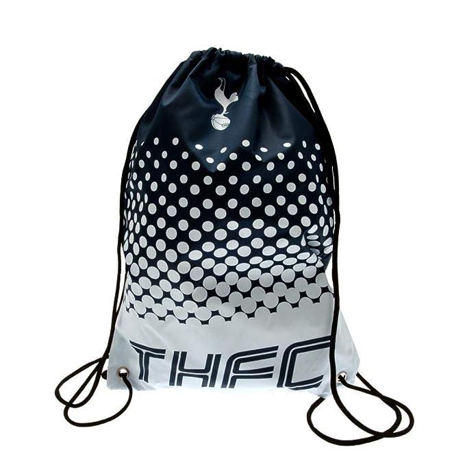 8da8e464e2f3 Official Tottenham Hotspur Spurs Football Club Gym School Bag White Fade  Design  Amazon.co.uk  Sports   Outdoors