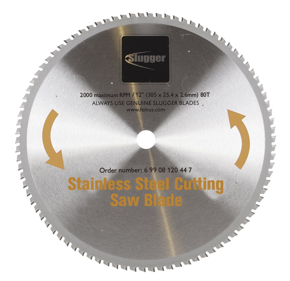 Jancy Engineering 69908120447 MCBL12-SS Blade, Stainless Steel, 12''