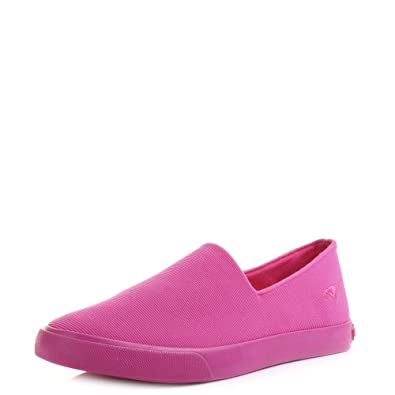d2e83e68ec4 Womens Rocket Dog Corby Quest Fuchsia Slip On Plimsolls Shoes SIZE 6 ...