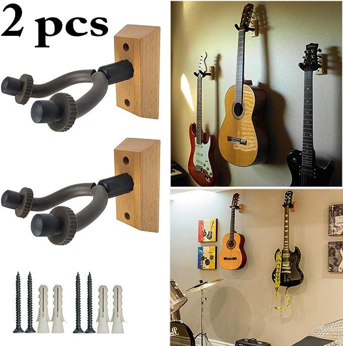 Justdolife Guitarra Baja Guitarra SuspensióN Guitarra 2PCS para El ...