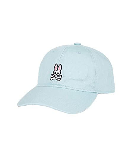 dc49ea4702b Image Unavailable. Image not available for. Color: Psycho Bunny Mens  Classic Stonewash Baseball Cap ...