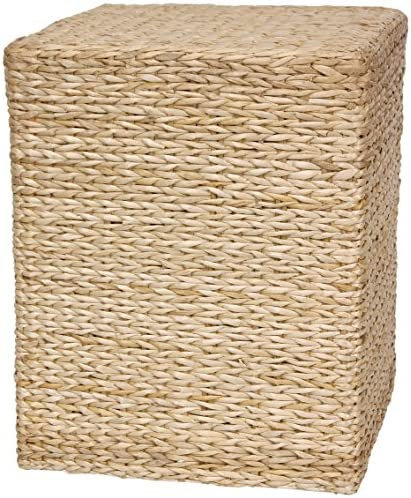 Oriental Furniture Rush Grass Square Coffee Table – Natural
