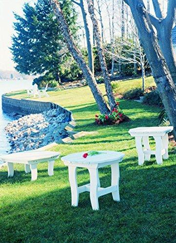 (Uwharrie Chair Co 5030-72-Sunshine Yellow-Dist-Pine Companion Side Table, Sunshine Yellow-Distressed)