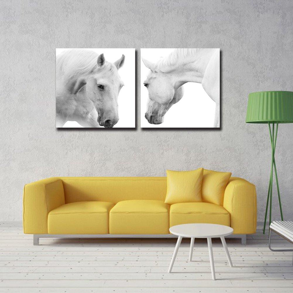 Amazon.com: Rihe Canvas Wall Art Pictures Room Decor Art 2 Pieces ...