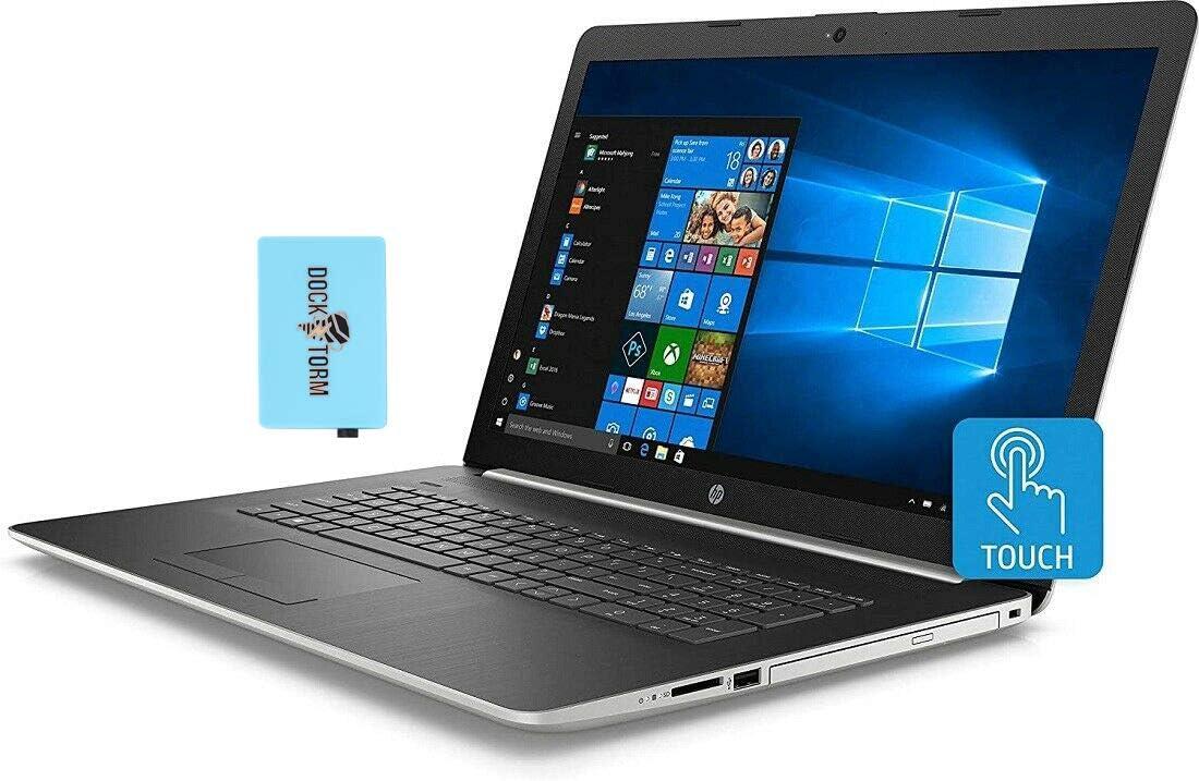 "HP 17-ca1065cl Home and Business Laptop (AMD Ryzen 5 3500U 4-Core, 64GB RAM, 512GB SATA SSD, AMD Vega 8, 17.3"" Touch HD+ (1600x900), WiFi, Bluetooth, Webcam, 2xUSB 3.1, 1xHDMI, Win 10 Home) with Hub"