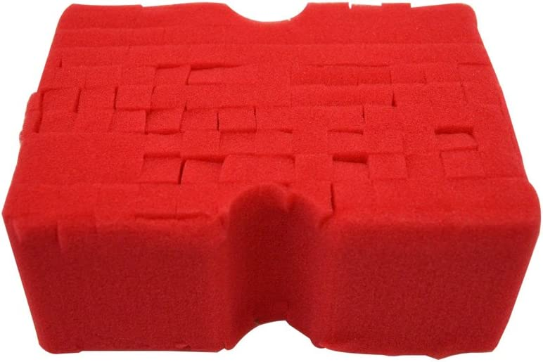 Opt 22516 Red Big Autowaschschwamm 1 Stück Auto