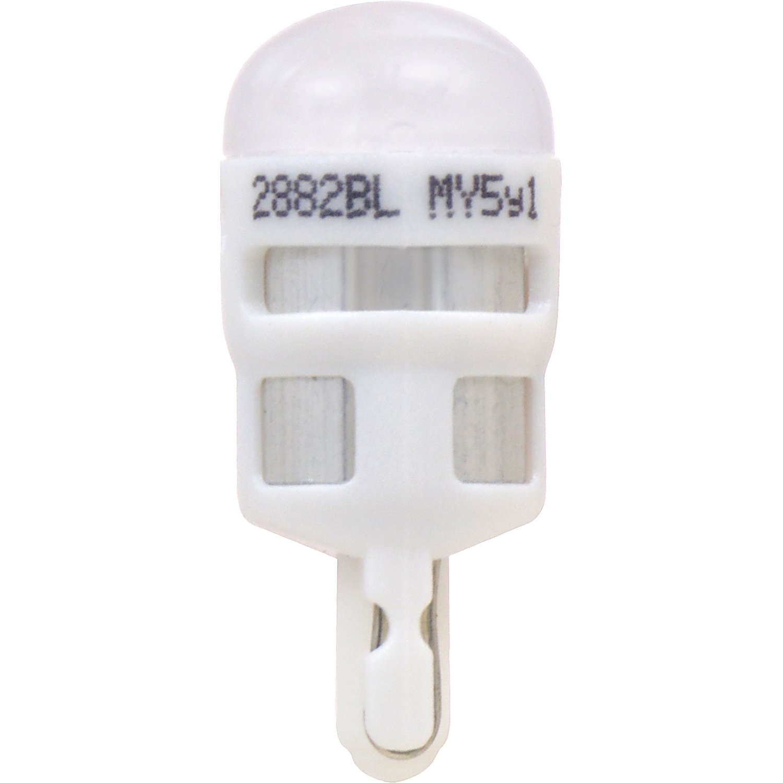 Amazon.com: SYLVANIA - 158 T10 W5W ZEVO LED Blue Bulb - Bright LED Bulb, Ideal for Interior Lighting (Contains 1 Bulb): Automotive