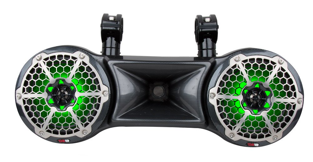 DS18 CF-82TD Hydro Black 8'' Water Proof Double Wakeboard Tower Speaker with Driver System by DS18 (Image #3)