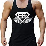 EVERWORTH Men Muscle Fitness Gym Stringer Tank Tops