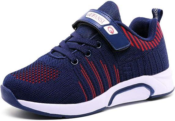 Zapatos de Walking Niñas 35 Zapatillas de Niños Zapatillas de Correr Niño Ligeras Deportivas Zapatos de Running Niña Transpirable Sneakers Baloncesto Zapatillas y Calzado Deportivo Azul Blue: Amazon.es: Zapatos y complementos