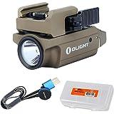 OLIGHT PL-Mini 2 Valkyrie 600 Lumen Magnetic USB Rechargeable Pistol Light for Glock