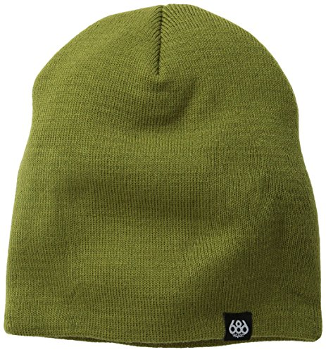 686 Men's Standard Beanie, Olive Drab, One - Beanie Lined Ride