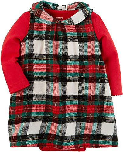 Carter's Baby Girls' Bodysuit and Dress Set