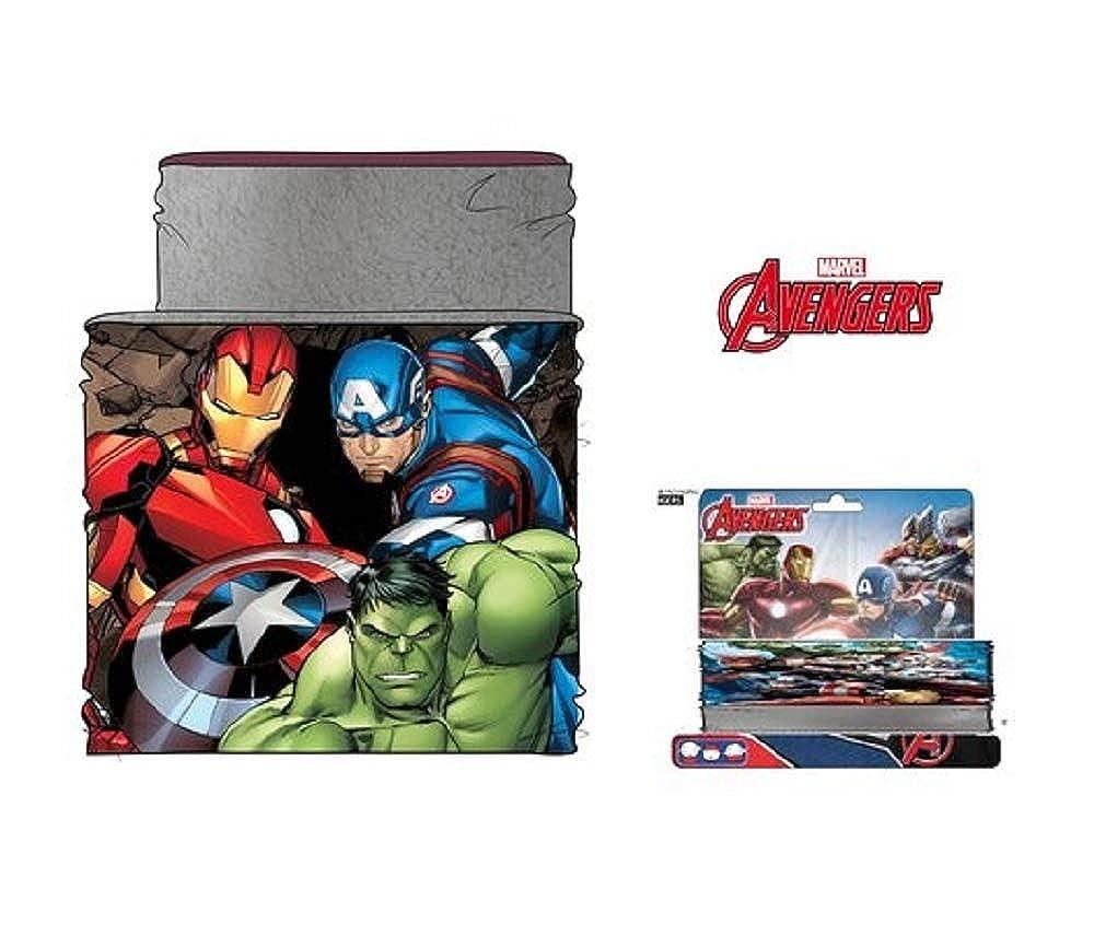 Marvel Braga de Cuello Los Vengadores Avengers RH4319 Talla Unica Bufanda
