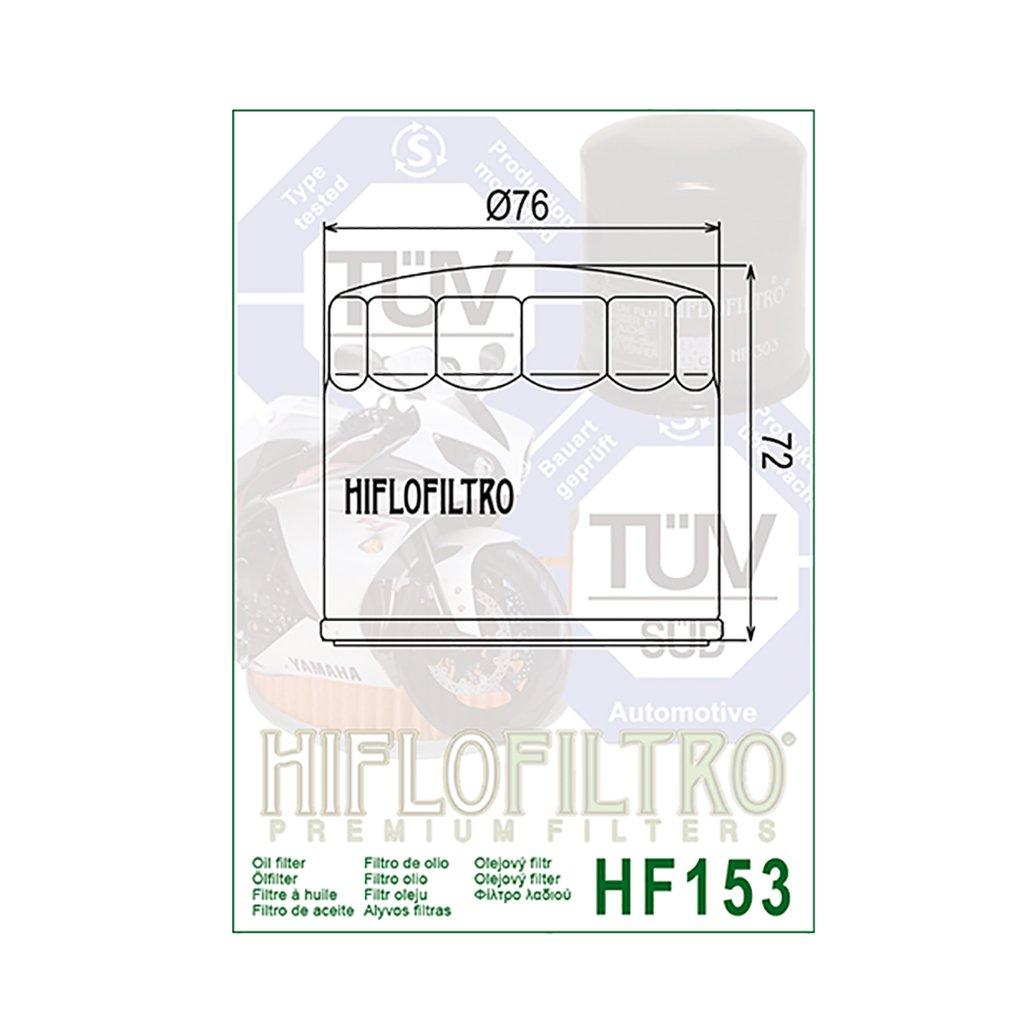 1x Filtre à huile Hiflo hf153 Cagiva Elefant 750 e Lucky Explorer
