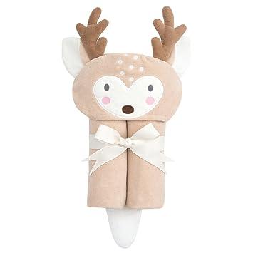 Amazon Com Elegant Baby Bath Wrap Deer Brown Baby