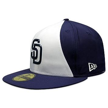online store 6c9e0 b1906 New Era 5950 San Diego Padres Game 2018 Batting Practice Hat (Navy) Prolight  Cap