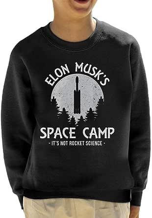 Cloud City 7 Elon Musk Space Camp Kid's Sweatshirt