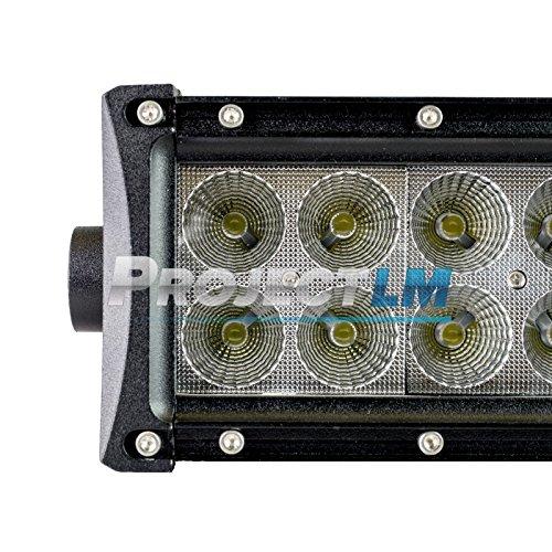 Project LM 8 Straight Flood Beam LED Light Bar Relay 8523769013