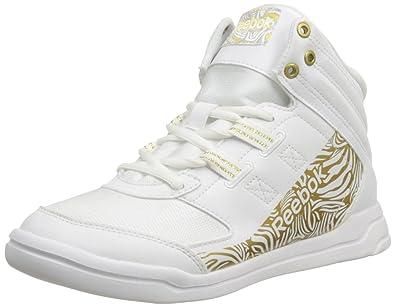 Reebok Damen Rs Blanc Weiß whitetrue Mid Sneaker Dance Urmelody rrdxwC4q