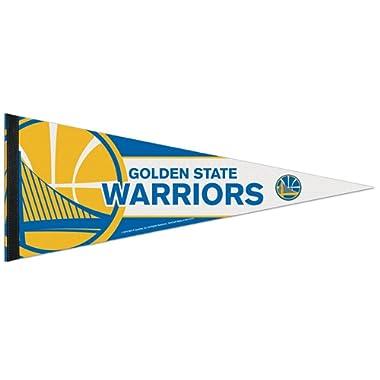 WinCraft NBA 69669014 Golden State Warriors Premium Pennant, 12  X 30