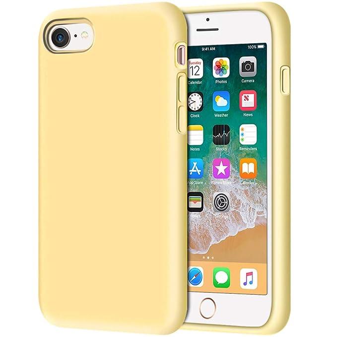 Amazon.com: Anuck - estuche para iPhone 8 silicosis ...