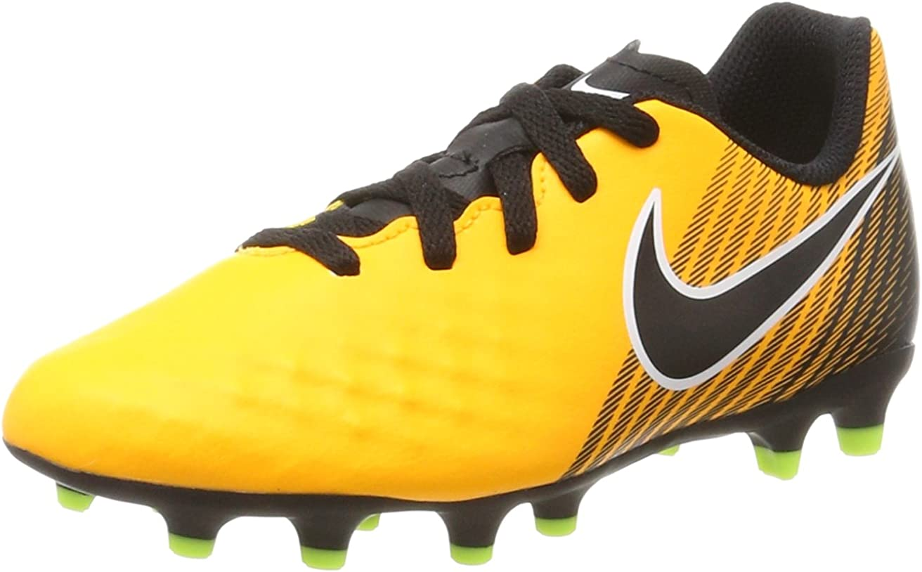galope Ese Zumbido  Amazon.com | Nike - Magista Ola II FG JR - 844204801 - Color: Yellow -  Size: 6 Big Kid | Soccer