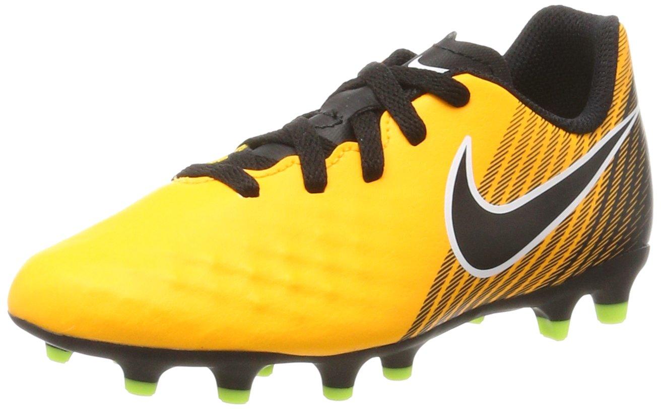 JR。Magista Ola II (FG) Football boots-レーザーオレンジ B005XVBZNC6 M US Big Kid
