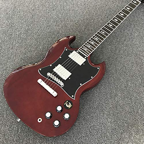 FidgetKute Custom Shop Angus Young S G Red Electric Guitar