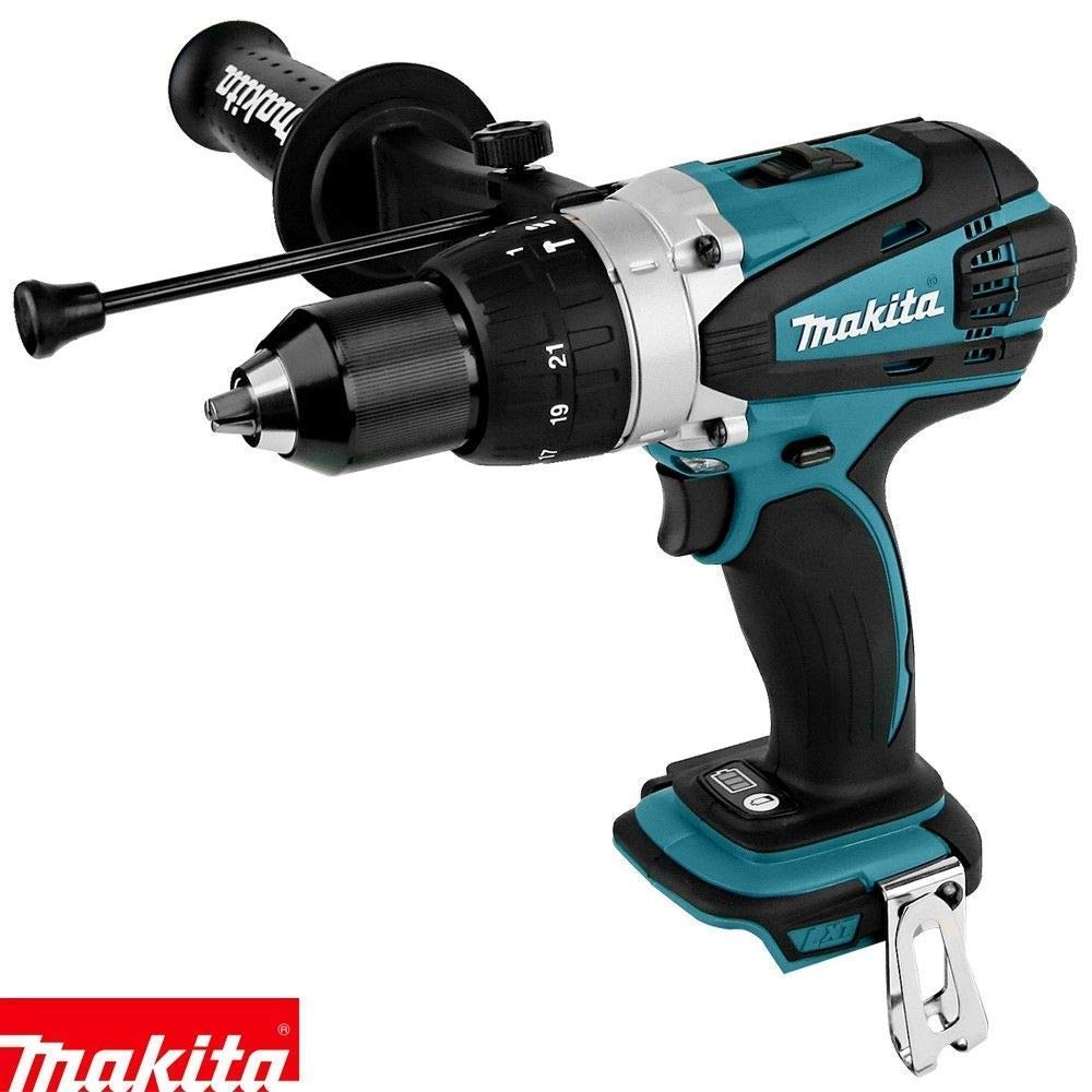 Makita DHP458 18V Compact Combi Drill with 26 inch//66cm Tool Storage Box